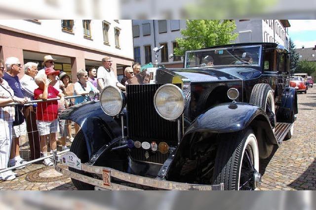 Rollende Limousinen