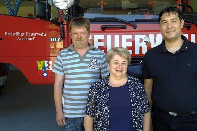 Bei Freunden in Arnsdorf
