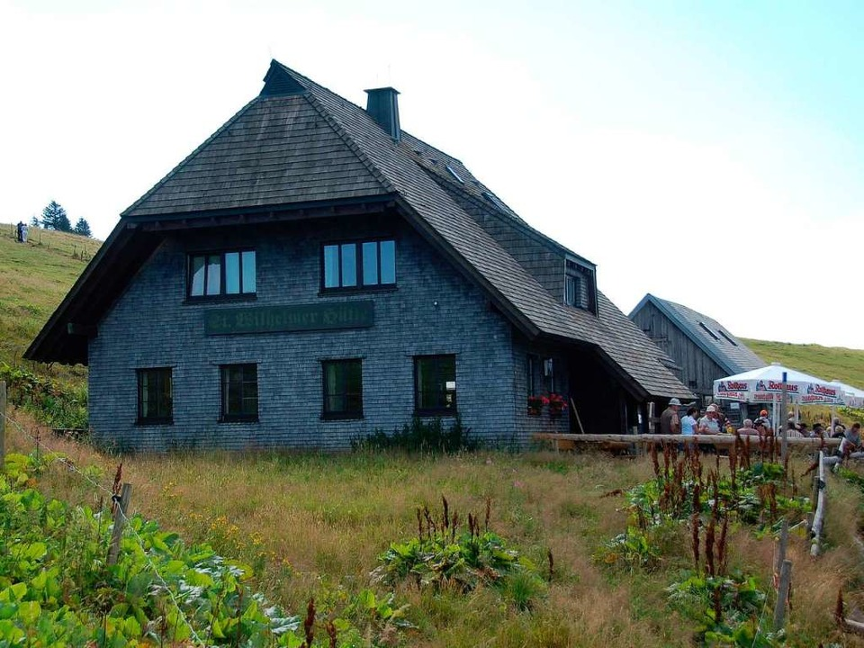 Die St. Wilhelmer Hütte auf dem Feldberg    Foto: Thomas Winckelmann