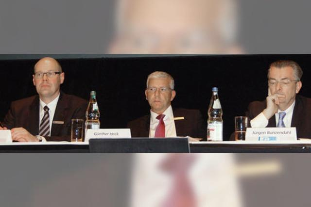 Zuversicht prägt das Klima an der Volksbank-Basis