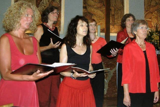 Beseelter Chor erfüllt den Tango
