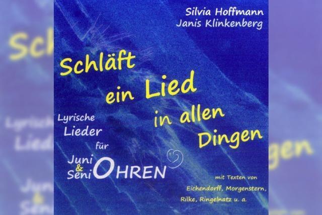 CD: LIEDER: Die Mondnacht in der Öko-Ecke