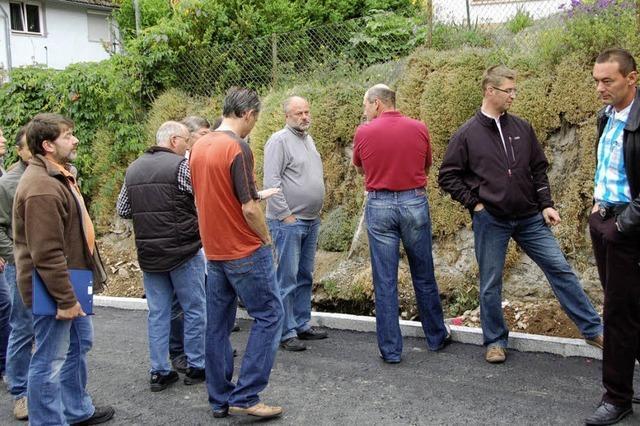Gemeinderat demonstriert in Lembach Bürgernähe