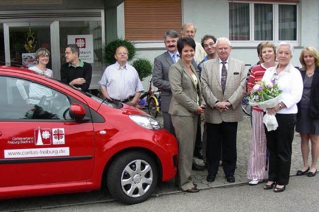 Autospende für die Caritas
