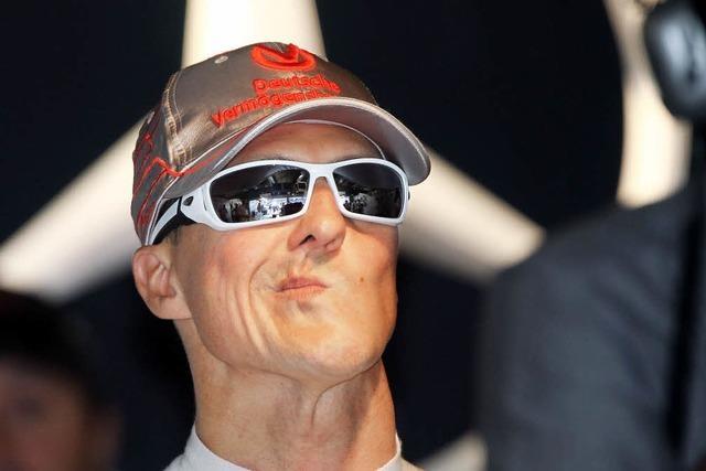 Schumachers schwarze Serie
