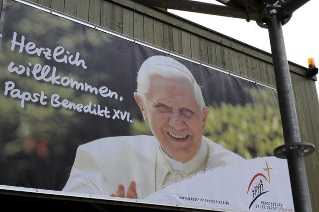 Papstbesuch: Polizei und Stadt gehen bei Planung auf Nummer sicher