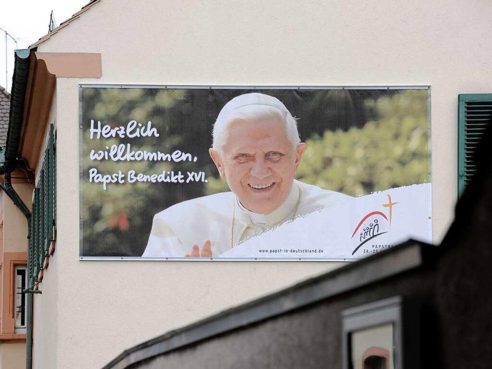 Der Papst kommt Ende September nach Freiburg.  | Foto: dapd