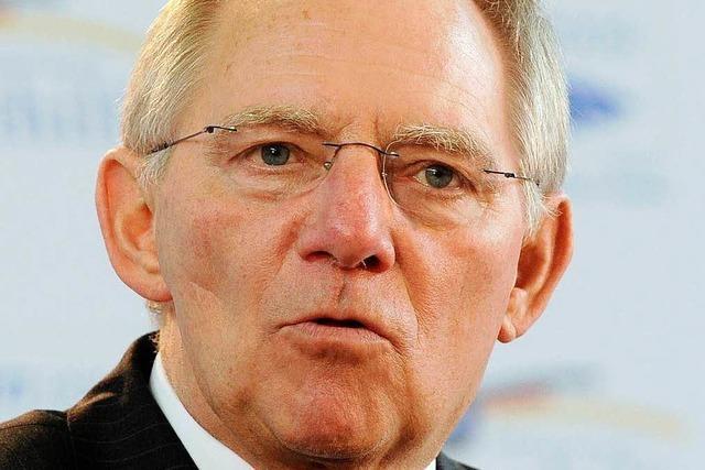 Wolfgang Schäuble: Mit Triumph in der Stimme
