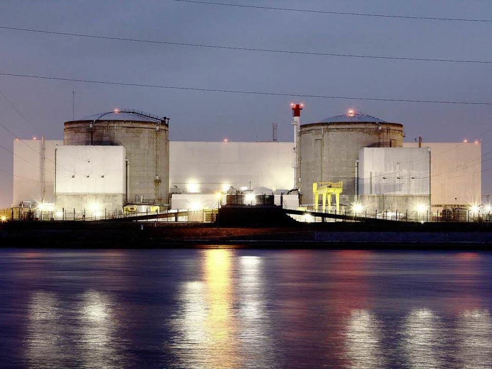 Ist das Atomkraftwerk Fessenheim gegen...nals geschützt, falls ein Damm bricht?  | Foto: Hans-Peter Ziesmer