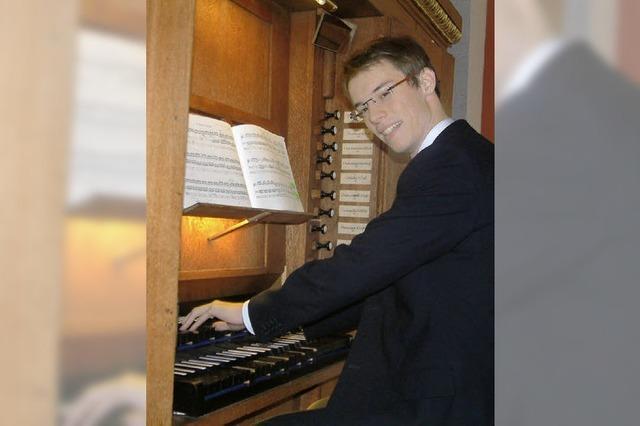 Korrespondenz zwischen alter Orgel und neuem Geläut