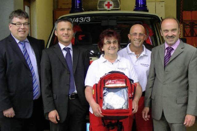 Defibrillator für schnelle Hilfe bei Herzinfarkt