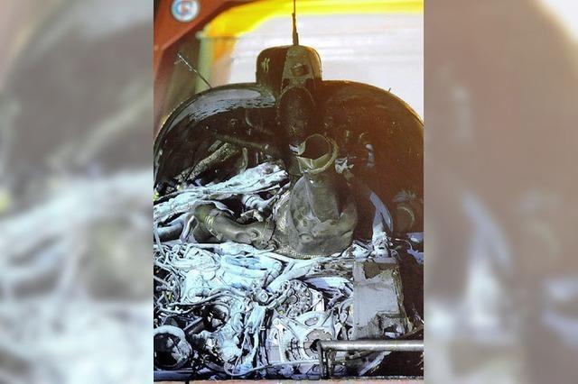 Spektakuläre Unfälle in Le Mans
