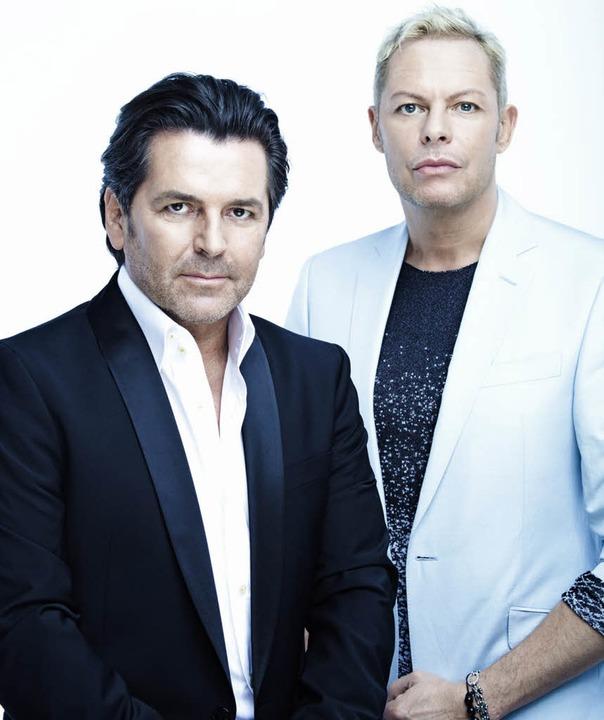 """Es passt auch menschlich: das Duo """"Anders/Fahrenkrog""""     Foto: Barz"""