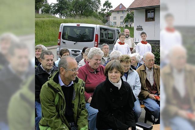 Patrozinium in kleiner Kapelle