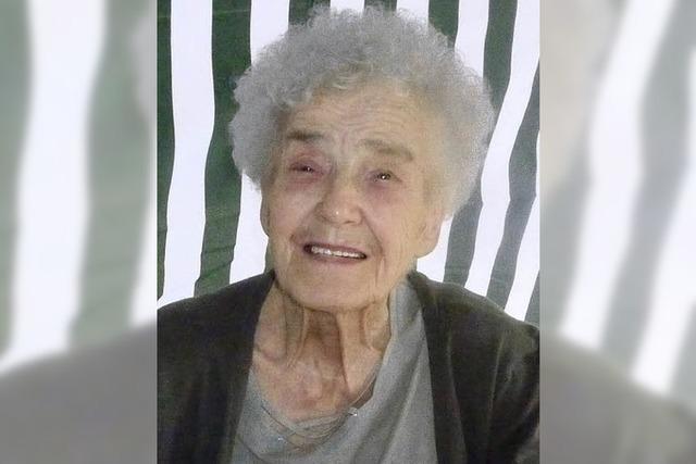 Ruth Peter wurde 80 Jahre