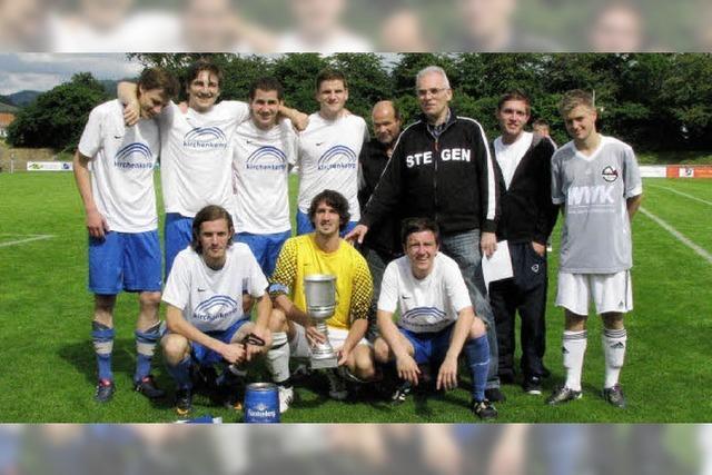 Sportfreunde Oberried holen Pokal