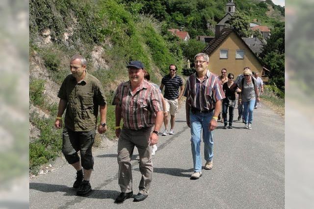 Viele Besucher beim Wasenweiler Weinfestival