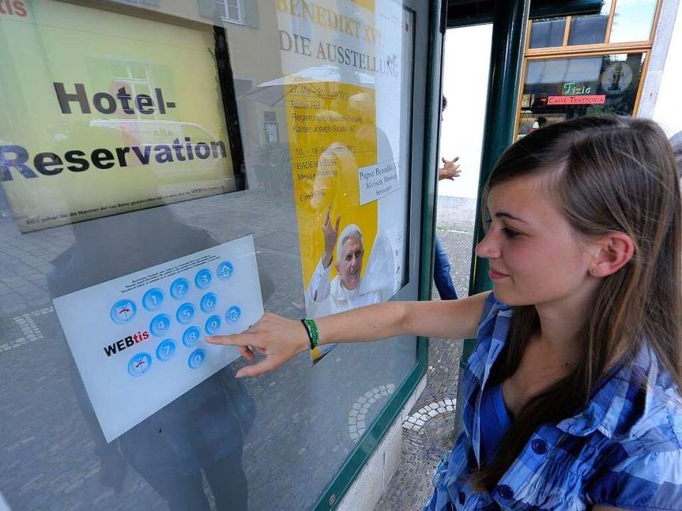 Wer noch kein Hotelbett für das Papst-...  Es ist so gut wie nichts mehr frei.   | Foto: Michael Bamberger