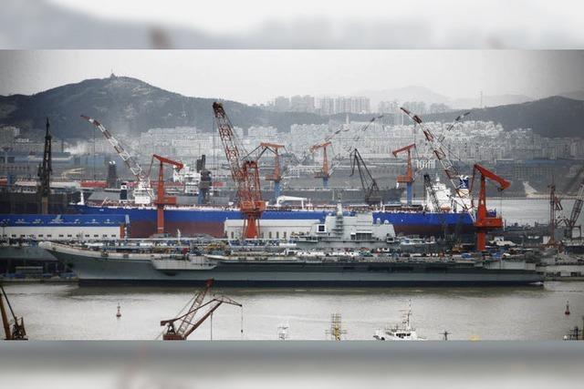 China will Seemacht werden und baut Flugzeugträger