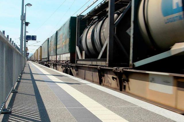 Weiße Wolke aus Güterzug – war es Milchpulver?