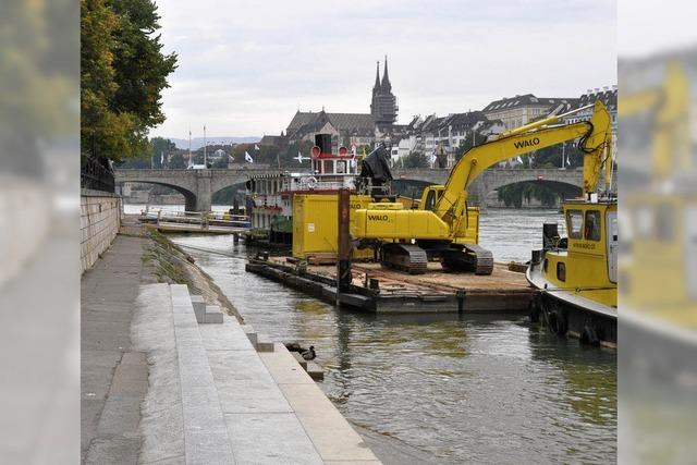Kanton will keine Grills am Rhein aufstellen