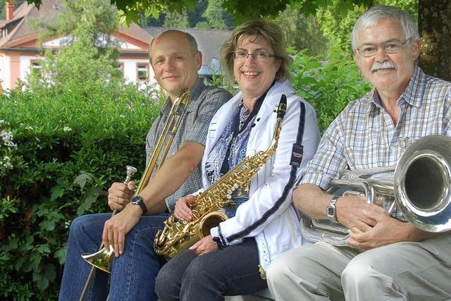 Die St. Blasier Stadtmusikanten