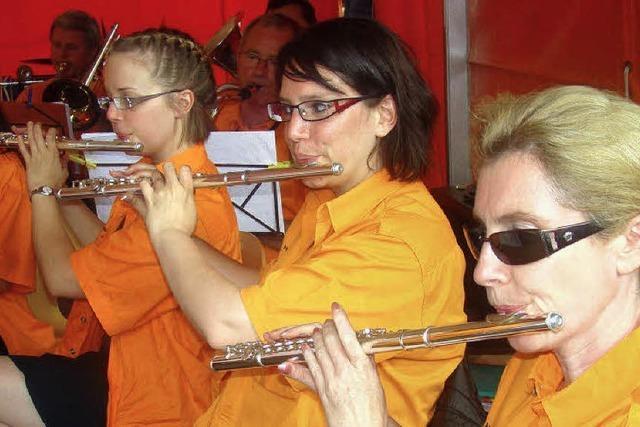 Die Stadtmusik will alle verwöhnen