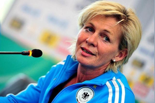 Eine Woche vor der WM puzzelt Silvia Neid noch an der Startelf