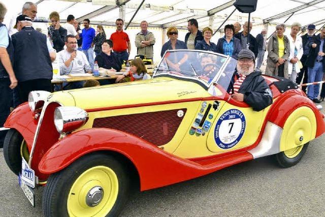 Vino Miglia-Rallye: Eldorado für Oldtimer-Freunde