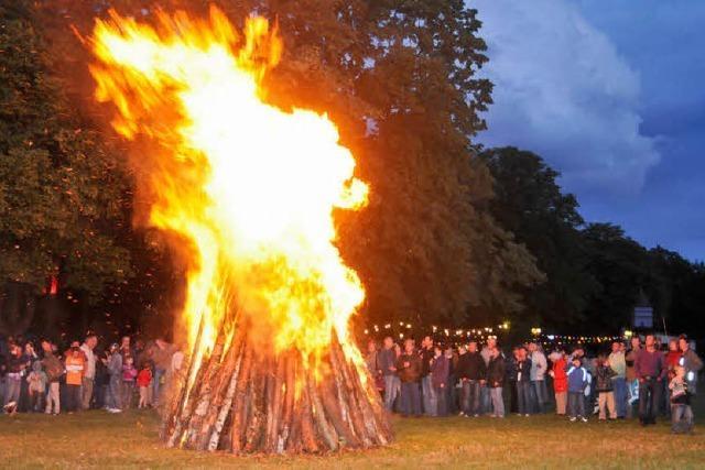Feuerfunken im Wuhrlochpark