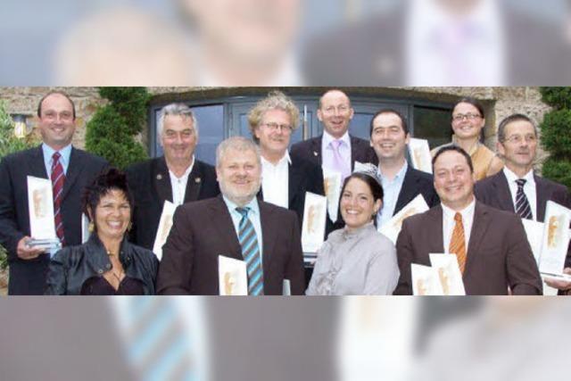 Gewinner des Internationalen Grauburgunderpreises wurden geehrt