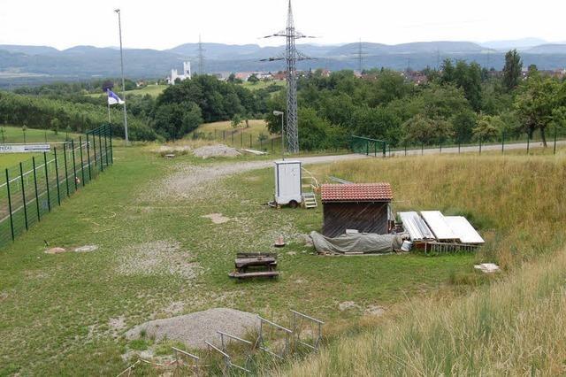 Neue Pläne für neues Vereinsheim