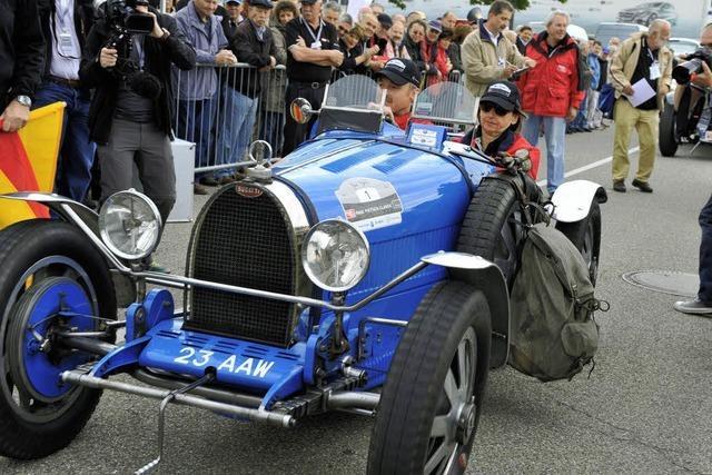 Galashow der automobilen Schönheiten