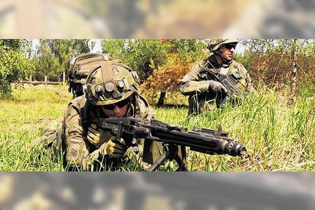 Rund 500 Jäger stehen vor Abflug nach Afghanistan