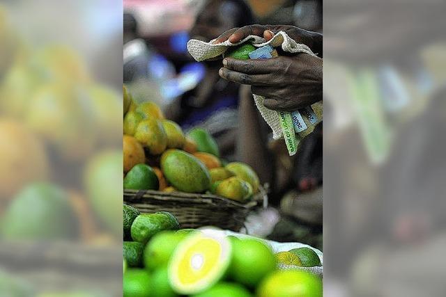In Afrika steigen die Preise für Lebensmittel rasant