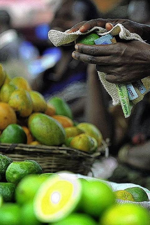 Auf einem Markt in Uganda   | Foto: AFP