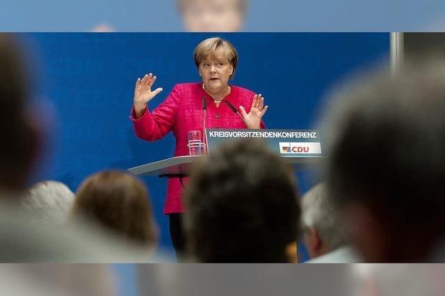 CDU-Kreisvorsitzendenkonferenz: Kritik an Angela Merkel
