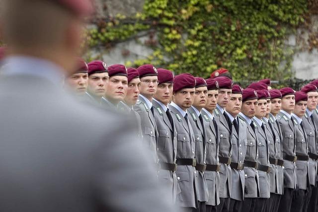 Die Bundeswehr und ihre Sorge um den Nachwuchs