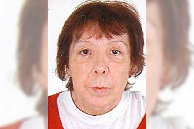 Polizei sucht vermisste 59-Jährige