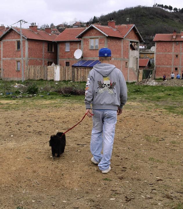 Adnan Hajreczi mit seinem Hund Rolex  | Foto: rehman