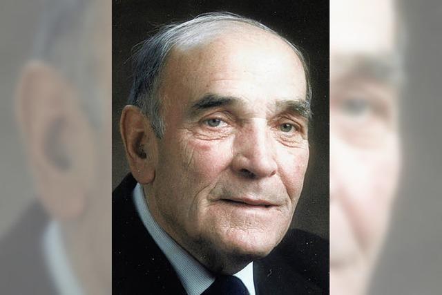 Bürgermeister Alois Straub prägt Eisenbach