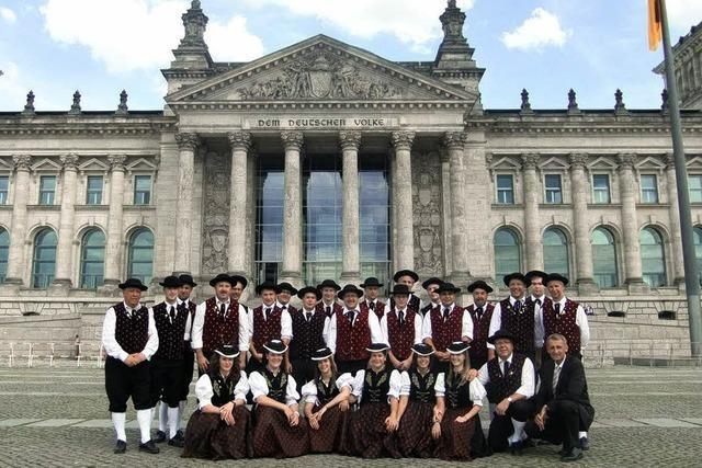 Trachten im Bundestag