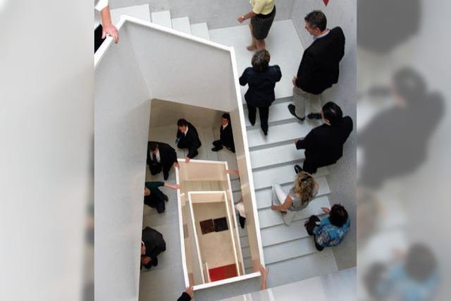 Treppenlauf im Campinello- Hochhaus