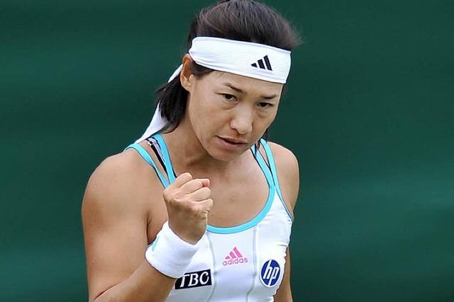 Kimiko Date-Krumm gewinnt Einzel - mit 40 Jahren