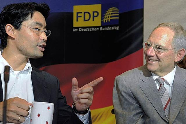 Schwarz-Gelb ringt um eine gemeinsame Politik