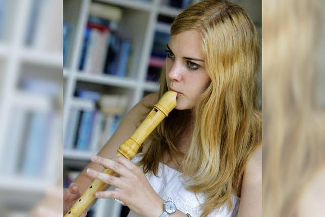Blockflöte ist das liebste Instrument