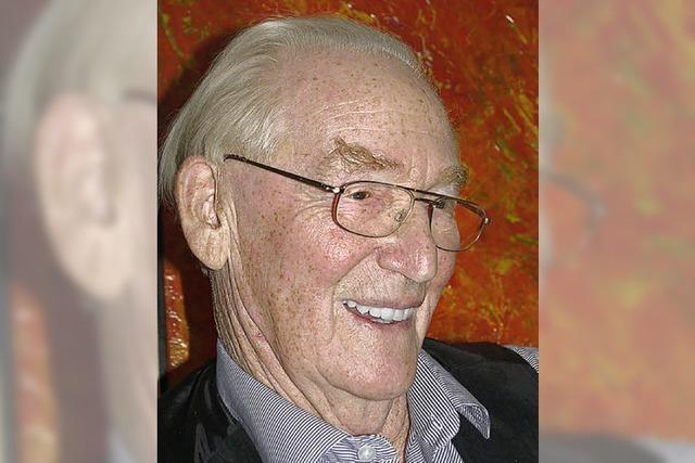 Ernst Bittel wurde 85 Jahre