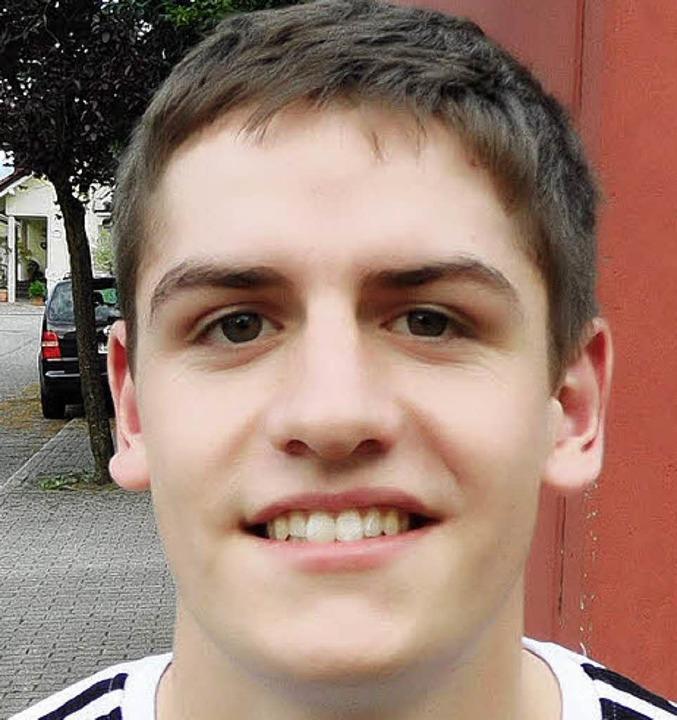 "Ferdinand Vogt (20), FSJler, Holzhause...annschaft  ja auch richtig gut!""  | Foto: Teresa Ehrler"