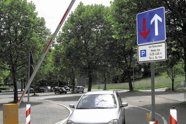 Es gibt mehr freie Kurzzeitparkplätze