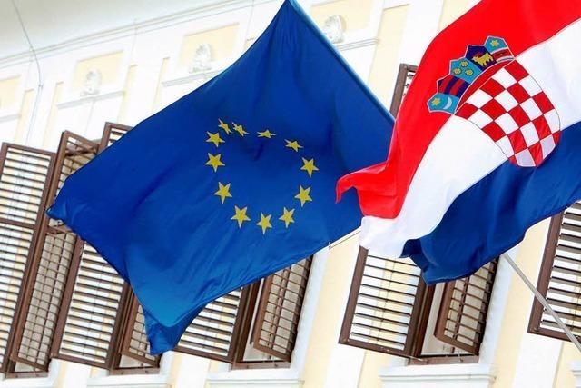Kroatien darf EU beitreten